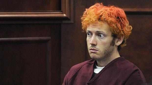 James Holmes killed 12 people in the cinema shooting