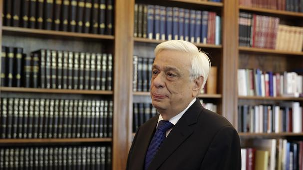 Greek President Prokopis Pavlopoulos has appointed the country's new prime minister. (AP)