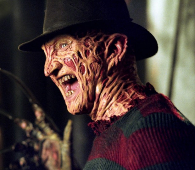 Freddy Krueger, Wes Craven's best known character from the smash hit movie Nightmare on Elm Street