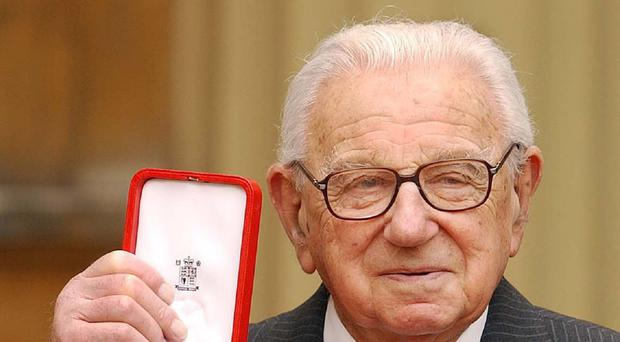 Sir Nicholas Winton is to be honoured with a stamp in the Czech Republic