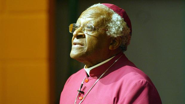 Desmond Tutu was released after almost three weeks in hospital