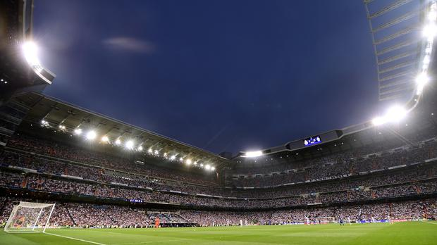 Real Madrid made the gesture towards people seeking refuge in Spain