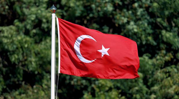 14 police officers have been killed by a roadside bomb in Turkey