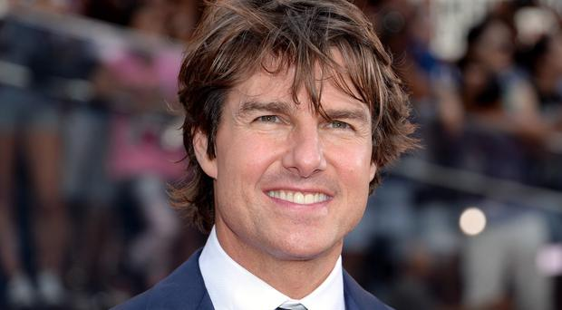 The Mission: Impossible star was not on board the plane, officials confirmed (AP)