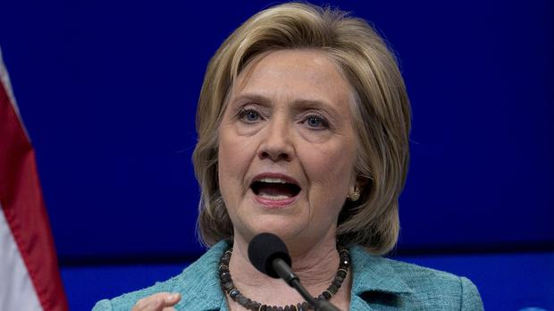 Mrs Clinton has said using a personal email account to deal with government business was