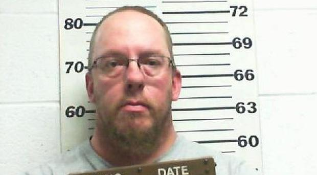 Joseph Richardson who was charged with involuntary manslaughter (Uinta County Sheriff's Office/AP)