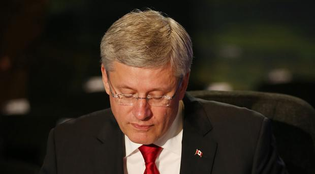 Stephen Harper's handling of the Syrian refugees crisis has become a major election issue in Canada