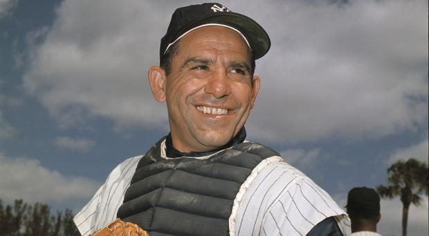 New York Yankee catcher Yogi Berra has died aged 90 (AP)