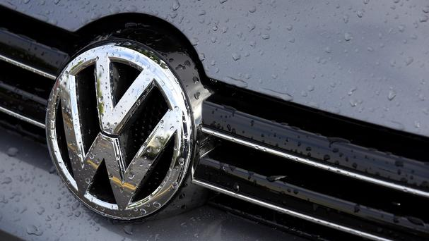 Shares in Volkswagen have dropped for the third consecutive day. (AP)