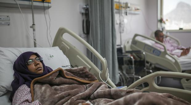 Marya Tabassum, 21, a British pilgrim who was injured along with her brother in the crane collapse that killed her father during the hajj pilgrimage at Mecca
