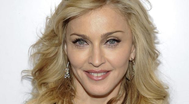Madonna dedicated a section of her Philadelphia show to Pope Francis (AP)