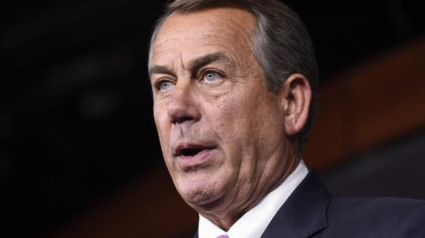 Speaker John Boehner is to step down (AP)