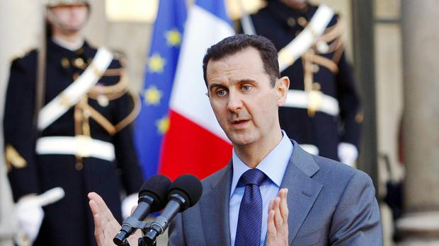 Syria President Bashar al-Assad's regime is being probed by French investigators