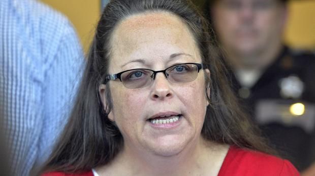 Rowan County Clerk Kim Davis says she met briefly with the pope. (AP)