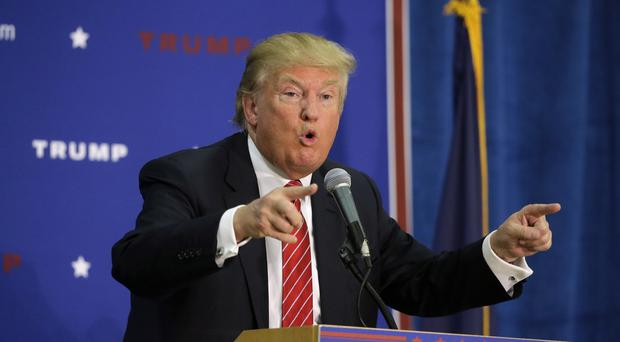 Donald Trump said he would send Syrian refugees home if he was US president. (AP)