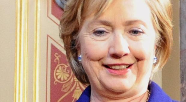 Hilary Clinton was targeted by an e-mail scam