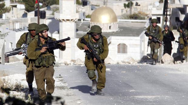Israeli soldiers have been involved in clashes with Palestinians (AP)
