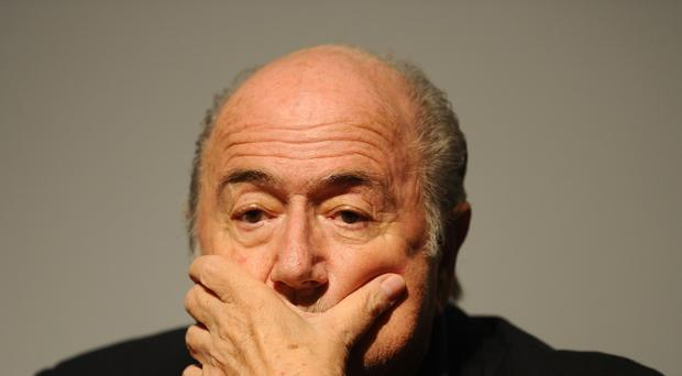 Sepp Blatter is under pressure to stand down immediately