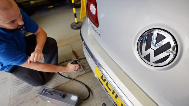 Volkswagen AG has admitted using a piece of engine software to cheat on diesel car emissions tests