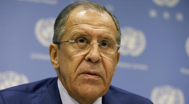 Russia's Foreign Minister Sergey Lavrov was warned of the consequences of violating Turkey's airspace