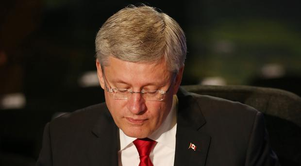 Canadian prime minister Stephen Harper has been accused by a fellow Conservative of borderline racist policies