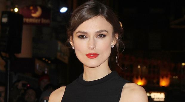 An injured Keira Knightley missed a performance of the Broadway show Therese Raquin (Invision/AP)