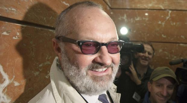Randy Quaid is pictured arriving for an immigration hearing in Vancouver (The Canadian Press/AP)