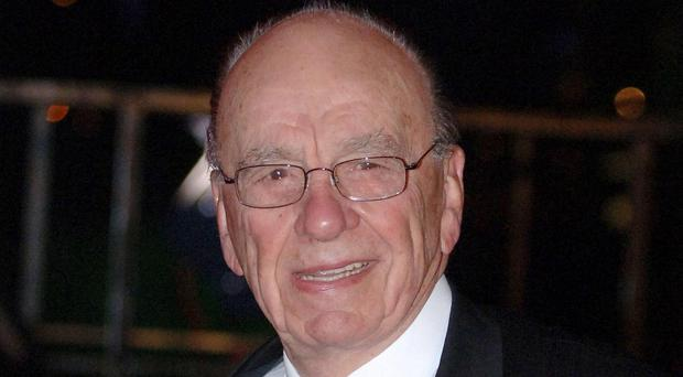 Rupert Murdoch, pictured, is backing US Republican presidential candidate Ben Carson