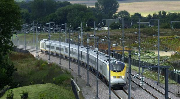 Eurostar is running a reduced schedule from London to Belgium amid a strike in Brussels