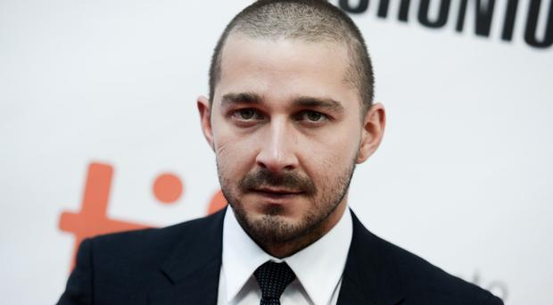 Actor Shia LaBeouf was arrested and charged with public intoxication (AP)