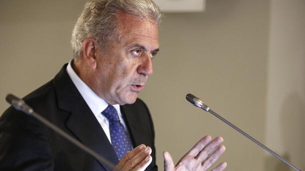 European Commissioner for Migration and Home Affairs Dimitris Avramopoulos revealed the plans (AP)