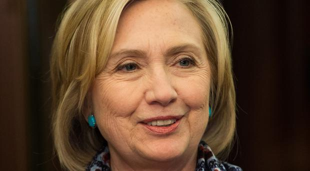 Former US secretary of state Hillary Clinton