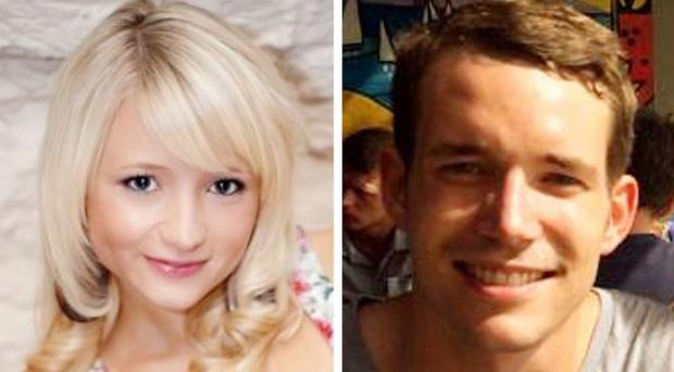 Hannah Witheridge and David Miller were killed on the island of Koh Tao in Thailand (Foreign and Commonwealth Office/PA)