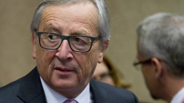 European Commission president Jean-Claude Juncker said