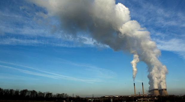 The EU said it was heading for 24-25% cuts in emissions by 2020 with current measures to fight climate change