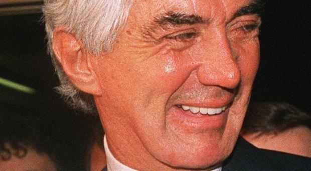 John DeLorean's gull-wing car featured in the Back To The Future movies (AP)