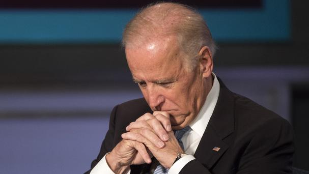 Joe Biden will not run for president. (AP)