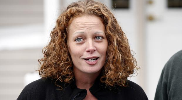 Nurse Kaci Hickox was quarantined at a New Jersey hospital in 2014 because she had contact with Ebola patients in West Africa (AP)