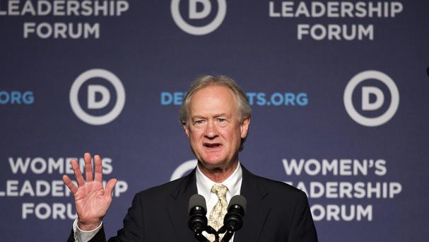 Lincoln Chafee is no longer seeking the presidential nomination. (AP)