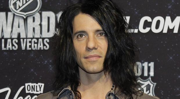 Criss Angel has pulled out of his Las Vegas shows to visit his young son who has leukaemia (AP)