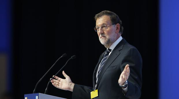 Mariano Rajoy said Spain had gone from being threatened with needing a bailout to one of full confidence among investors (AP)