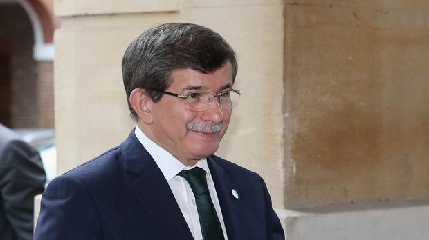 Turkish prime minister Ahmet Davutoglu confirmed that the military targeted the Kurdish forces