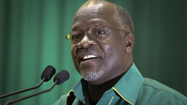 John Magufuli has been declared the winner of Tanzania's presidential election (AP)