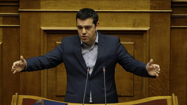 Alexis Tsipras lashed out at Europe's