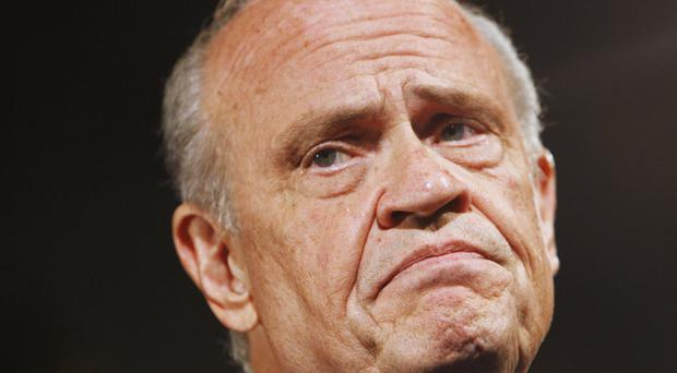 Fred Thompson, pictured in 2007, who has died after a recurrence of lymphoma aged 73 (AP)