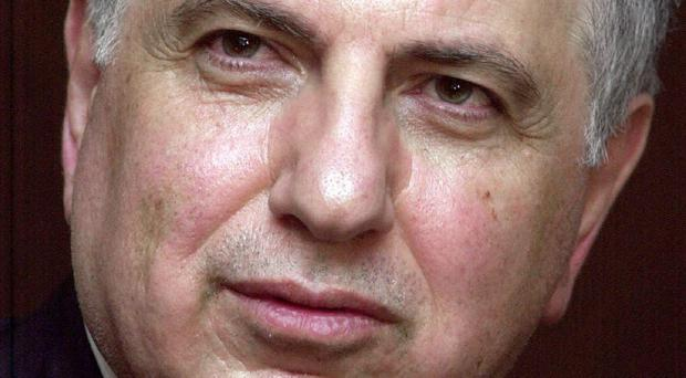 Iraqi politician Ahmad Chalabi, who has died of a heart attack (AP)