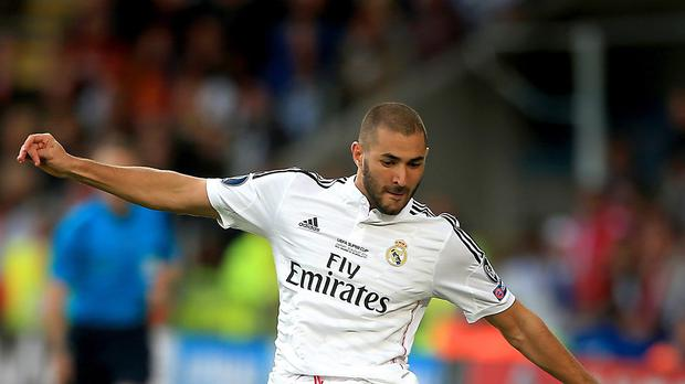 Real Madrid's Karim Benzema was held overnight for questioning