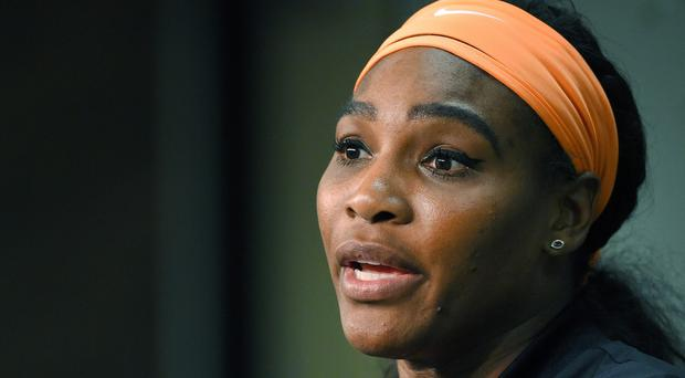 Serena Williams chased and confronted a man whom she said tried to steal her mobile phone at a Chinese restaurant (AP)