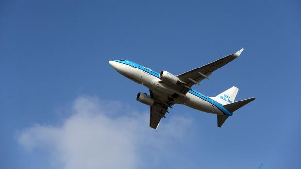 KLM said the measure is 'based on national and international information and out of precaution'