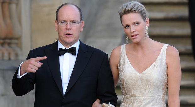 Prince Albert II of Monaco and his wife Princess Charlene had twins last year